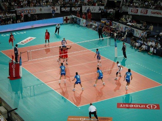e8848908fb Partida de voleibol entre Rússia e Itália