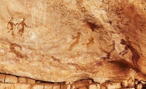 Arte Rupestre encontrada na África