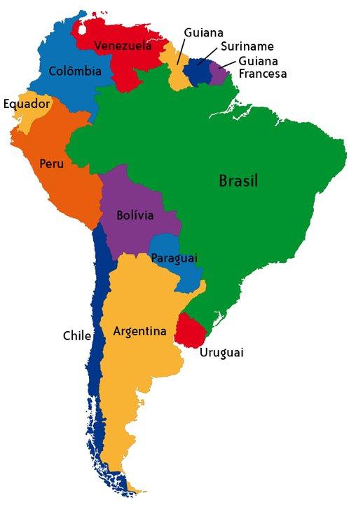 Países da América do Sul