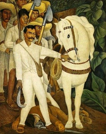 Agrarian Leader Zapata (1931)