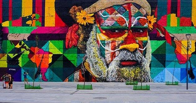 grafite de Eduardo Kobra