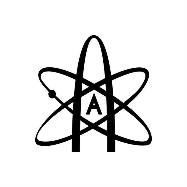 A trajetória do átomo e a letra A