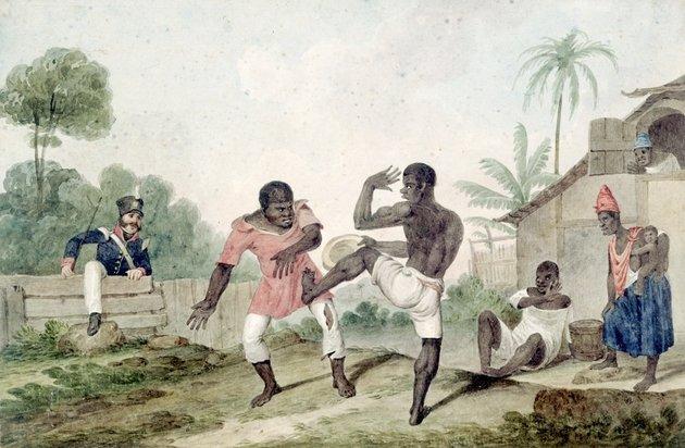 origem da capoeira