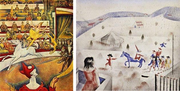 obras com temas de circo