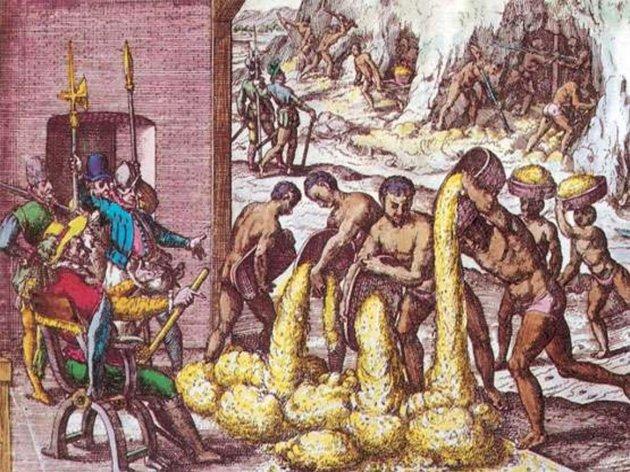 Tributos nas colônias espanholas