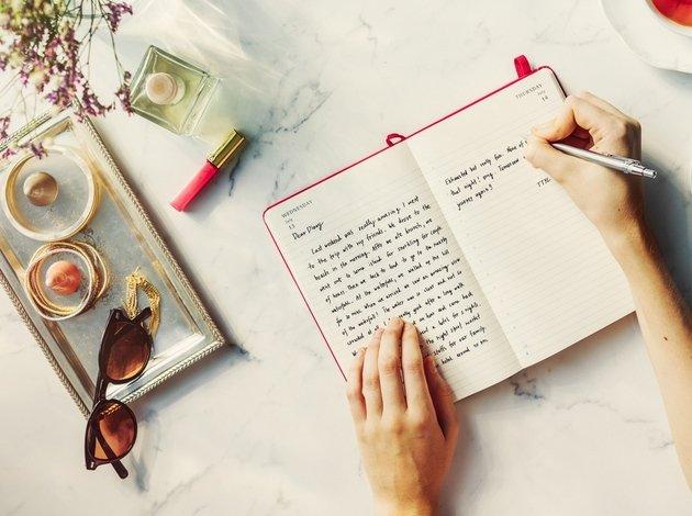 diário manuscrito