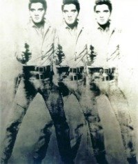 Triple Elvis, 1963. Localizada no Virginia Museum of Fine Arts, em Richmond, Virginia, EUA