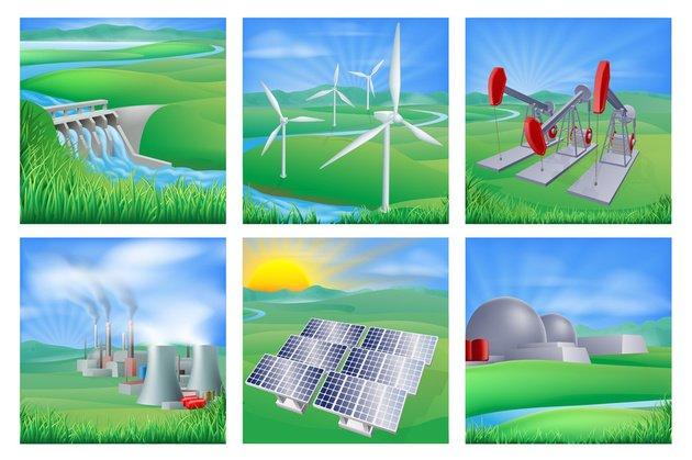 Fontes De Energia Tipos Renováveis E Não Renováveis Toda Matéria