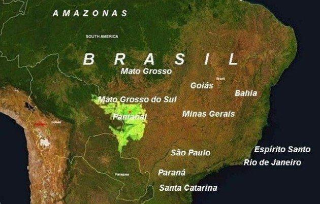 localização Pantanal