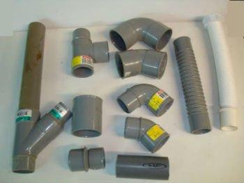 Materiais de PVC