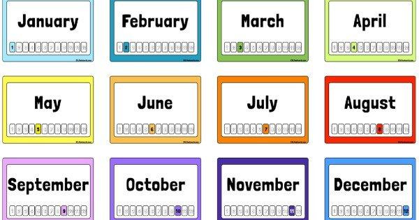 Meses Do Ano Em Ingles Origem Exemplos E Pronuncia Toda Materia