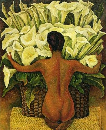 Nude with Calla Lilies (1944)