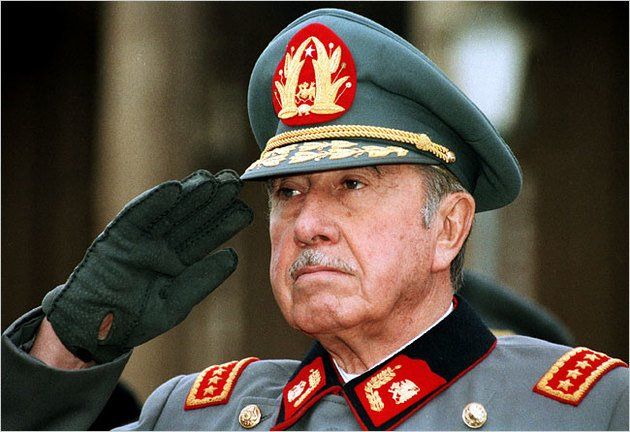Augusto Pinochet, ditador do Chile