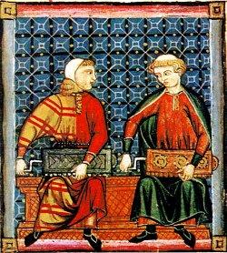 ilustração das cantigas trovadorescas